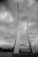 """the Monument at the Air Force Memorial"""